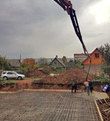 Бетон ломоносов нормы расхода цементных растворов
